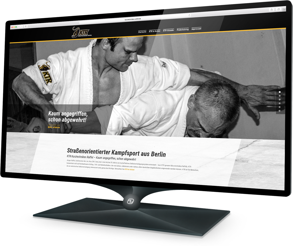 Webdesign KTR (Demski Design)